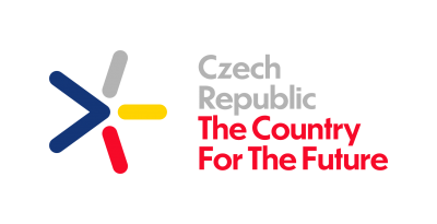 Logo of Czech Republic - Country for the Future